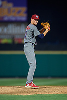 Lehigh Valley IronPigs relief pitcher Brandon Leibrandt (37) gets ready to deliver a pitch during a game against the Rochester Red Wings on June 30, 2018 at Frontier Field in Rochester, New York.  Lehigh Valley defeated Rochester 6-2.  (Mike Janes/Four Seam Images)