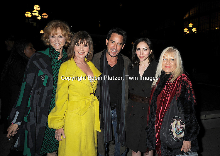 Jill Larson, Bobbie Eakes, Ricky Paull Goldin, Eden Riegel and Ilene Kristen ..at The ABC Daytime Casino Event on October 23, 2008 at ..Guastavinos in New York City. ....Robin Platzer, Twin Images