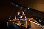 1304-35 144.CR2<br /> <br /> Graduating BYU students Hilary Heideman Mauler and Tiffany Winkel Delgado won the United States International Duo Piano Competition.<br /> <br /> April 17, 2013<br /> <br /> Photography by Mark A. Philbrick<br /> <br /> Copyright BYU Photo 2013<br /> All Rights Reserved<br /> photo@byu.edu  (801)422-7322