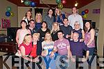 30th Birthday : Jenny McNicholas, Listowel celebrating her 30th birthday with family & friends at The Kingdom Bar, Listowel on Saturday night last.
