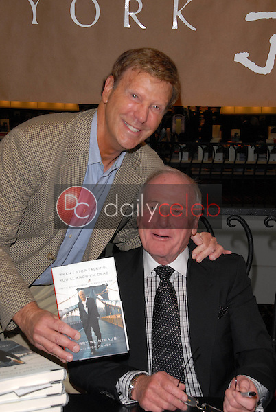 """Bob Einstein and Jerry Weintraub<br /> at a celebration of Jerry Weintraub's New Book """"When I Stop Talking You'll Know I'm Dead,"""" Barney's New  York, Beverly Hills, CA. 05-18-10<br /> David Edwards/Dailyceleb.com 818-249-4998"""