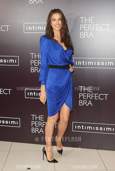 Irina Shayk launches Intimissimi's new book The Perfect Bra.London. 24/04/2012 Picture by: Henry Harris / Featureflash