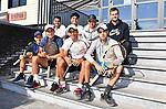 2018-07-11 / Tennis / Seizoen 2018 / De 7 Bolivianen die aangesloten zijn bij TC Wezel met hun trainers.<br /> <br /> ,Foto: Mpics
