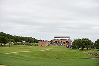 A wide view of the 16th tee box from the green during round 3 of the Valero Texas Open, AT&amp;T Oaks Course, TPC San Antonio, San Antonio, Texas, USA. 4/22/2017.<br /> Picture: Golffile | Ken Murray<br /> <br /> <br /> All photo usage must carry mandatory copyright credit (&copy; Golffile | Ken Murray)