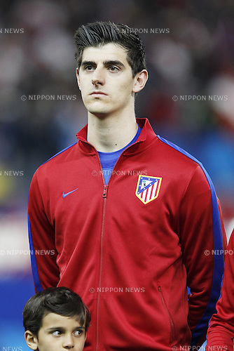 Thibaut Courtois (Atletico), MARCH 11, 2014 - Football / Soccer : UEFA Champions League match between Atletico de Madrid and AC Milan at the Vicente Calderon Stadium in Madrid, Spain. (Photo by AFLO) [3604]