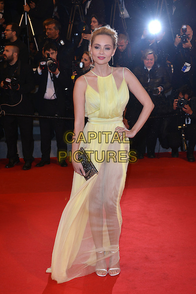 CANNES, FRANCE - MAY 19: Beatrice Rosen attends the 'Maps To The Stars' premiere during the 67th Annual Cannes Film Festival on May 19, 2014 in Cannes, France.<br /> CAP/PL<br /> &copy;Phil Loftus/Capital Pictures