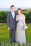 Peter Kennelly and Clodagh O'Leary at the ISK debs at the Ballyroe Heights hotel, Tralee on Thursday.