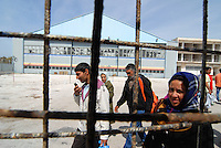 Athens / Greece 01/04/2016<br /> Refugee camp for afghani people run by greek government in Athens suburb area of the former airport known as &quot;West Hellenico&quot;.<br /> Photo Livio Senigalliesi