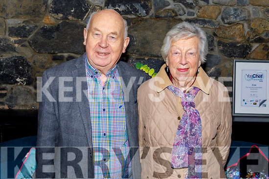 Michael and Eileen Quinn enjoying the evening in Croi on Saturday.