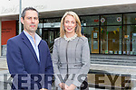 Joanne Griffin SKDP Employer Liaison and Fergal Hynes Inís Software Consulting Ltd at their offices in the Killorglin  Council building