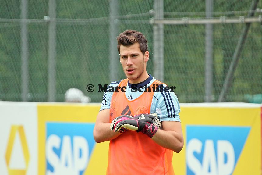 Torwart Marius Müller (1. FC Kaiserslautern) - Training der Deutschen U20 Nationalmannschaft   im Rahmen der WM-Vorbereitung in St. Martin