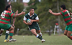 Richard Koroi. Pat Walsh memorial pre-season rugby game between Manurewa & Waiuku played at Mountfort Park, Manurewa on 5th April, 2008. Waiuku led 12 - 8 at halftime, though Manurewa went on to win 30 - 23.