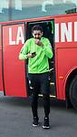 07.01.2018, San Pedro del Pinatar, Pinatar Arena, ESP, FSP FC Twente Enschede (NED) vs Werder Bremen (GER), im Bild<br /> <br /> Ankunft der Mannschaft am Stadion mit dem Bus und anschliessender Platzbegehung<br /> <br /> Ishak Belfodil (Werder #29)<br /> <br /> Foto &copy; nordphoto / Kokenge