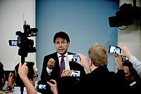 Roma, 6 Settembre 2018<br /> Giuseppe Conte<br /> Palazzo Chigi<br /> Conferenza stampa su Decreto Anti Corruzione