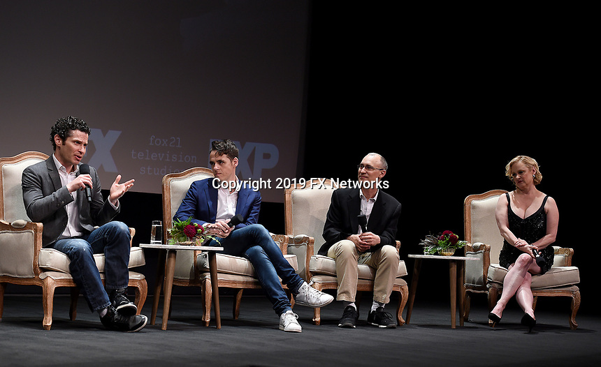 """LOS ANGELES - MAY 30: Executive Producers Tommy Kail, Steven Levenson, Joel Fields, and Nicole Fosse attend the FYC Event for Fox 21 TV Studios & FX's """"Fosse/Verdon"""" at the Samuel Goldwyn Theater on May 30, 2019 in Los Angeles, California. (Photo by Frank Micelotta/FX/PictureGroup)"""