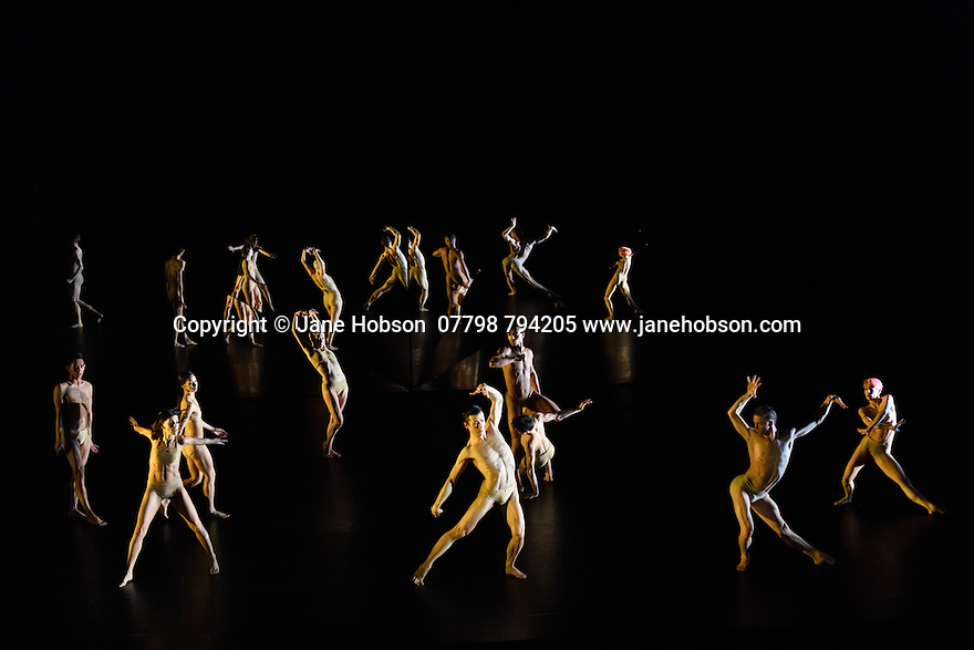 Company Wayne McGregor/ Paris Opera Ballet presents TREE OF CODES, in its London premiere, at Sadler's Wells. TREE OF CODES is a collaboration by choreographer Wayne McGregor, artist Olafur Eliasson, and musician Jamie xx. The dancers are: Company Wayne McGregor - Catarina Carvalho, Travis Clausen-Knight, Alvaro Dule, Louis McMiller, Daniela Neugebauer, James Pett, Fukiko Takase, Po-Lin Tung, Jessica Wright; Paris Opera Ballet - Marie-Agnes Gillot, Jeremie Belingard, Lydie Vareilhes, Sebastien Bertaud, Julien Meyzindi, Lucie Fenwick.
