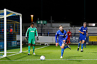 Scott Wagstaff of AFC Wimbledon during the The Leasing.com Trophy match between AFC Wimbledon and Leyton Orient at the Cherry Red Records Stadium, Kingston, England on 8 October 2019. Photo by Carlton Myrie / PRiME Media Images.