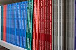 Berlin, 24.9.2014. Verlagsbüro von Hentrich & Hentrich,  einem Verlagshaus für jüdische Kultur und Zeitgeschichte aus Berlin.
