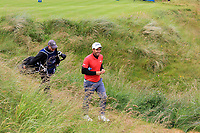 Eduardo Molinari (ITA) on the 18th tee during the 3rd round of the Dubai Duty Free Irish Open, Lahinch Golf Club, Lahinch, Co. Clare, Ireland. 06/07/2019<br /> Picture: Golffile | Thos Caffrey<br /> <br /> <br /> All photo usage must carry mandatory copyright credit (© Golffile | Thos Caffrey)