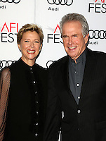 "Hollywood, CA - NOVEMBER 16: Annette Bening, Warren Beatty, At AFI FEST 2016 Presented By Audi - A Tribute To Annette Bening And Gala Screening Of A24's ""20th Century Women"" At The TCL Chinese Theatre, California on November 16, 2016. Credit: Faye Sadou/MediaPunch"