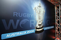 PICTURE BY VAUGHN RIDLEY/SWPIX.COM - Rugby League - Rugby League World Cup 2008 - Press Launch - Leeds, England - 06/11/07...Copyright - Simon Wilkinson - 07811267706..The Rugby League World Cup Logo.