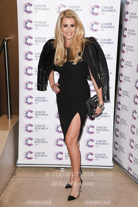 Leanne Brown arriving at James Ingham&rsquo;s Jog On to Cancer, in aid of Cancer Research UK at The Roof Gardens in Kensington, London.  <br /> 12 April  2017<br /> Picture: Steve Vas/Featureflash/SilverHub 0208 004 5359 sales@silverhubmedia.com