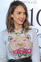 BEVERLY HILLS, CA - FEBRUARY 05: Actress Jessica Alba arrives at the EXPERIENCE: East Meets West Event held at Crustacean on February 5, 2014 in Beverly Hills, California. (Photo by David Acosta/Celebrity Monitor)
