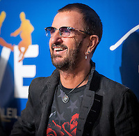 LAS VEGAS, NV - July 14, 2016: Ringo Starr pictured arriving at The Beatles LOVE by Cirque Du Soleil at The Mirage Resort in Las vegas, NV on July 14, 2016. Credit: Erik Kabik Photography/ MediaPunch