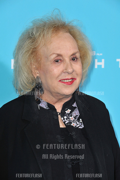 "Doris Roberts at the Los Angeles premiere of ""Flight"" at the Cinerama Dome, Hollywood..October 23, 2012  Los Angeles, CA.Picture: Paul Smith / Featureflash"