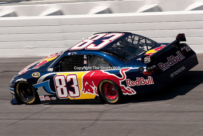 Feb 08, 2009; 1:28:28 PM; Daytona Beach, FL, USA; NASCAR Sprint Cup Series qualifying for the Daytona 500 at Daytona International Speedway.  Mandatory Credit: (thesportswire.net)