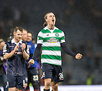 Ross County's Jackson Irvine celebrates at the end