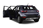 Car images close up view of a 2018 KIA Stonic Sense 5 Door SUV doors