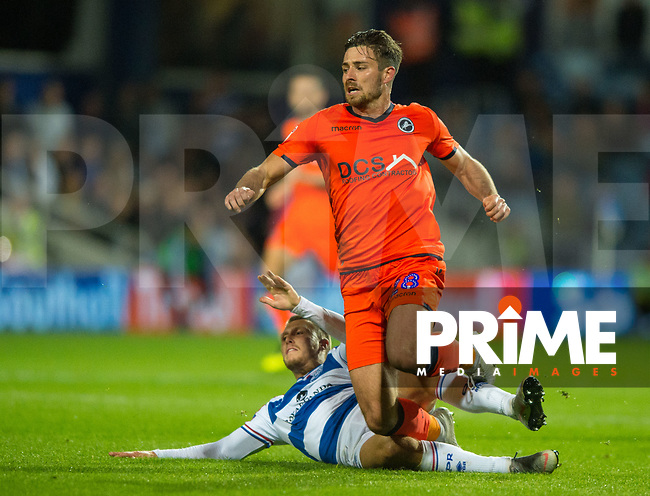 Millwall's Ryan Leonard  and QPR Luke Freeman during the Sky Bet Championship match between Queens Park Rangers and Millwall at Loftus Road Stadium, London, England on 19 September 2018. Photo by Andrew Aleksiejczuk / PRiME Media Images.