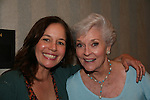"Lauren Marie Taylor ""Stacey"" Loving and Lee Meriwether ""Ruth Martin"" AMC at the Super Megashow & Comic Fest on August 30, 2009 in Secaucus, New Jersey (Photo by Sue Coflin/Max Photos)"