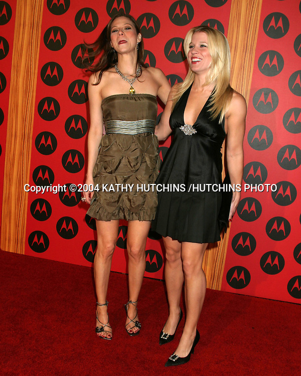 ©2004 KATHY HUTCHINS /HUTCHINS PHOTO.MOTOROLA 6TH ANNIVERSARY PARTY.HOLLYWOOD, CA.DECEMBER 2, 2004..TAMARA BRAUN.ALICIA LEIGH WILLIS