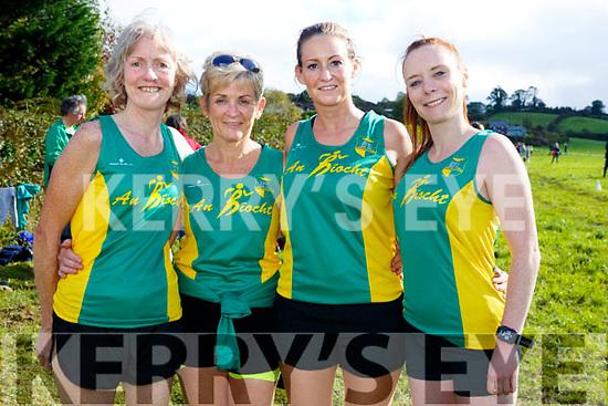 At the Juvenile cross country in Currow were Majella Diskin, Liz Heaslip, Mary Barrett, Catherine O'Sullivan