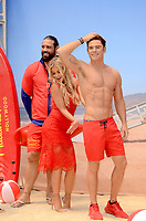 LOS ANGELES - July 13:  Models, Carmen Electra, Zac Efron Wax Figure at the Madame Tussauds Hollywood Unveils A Wax Figure Of Zac Efron at the Madame Tussauds Hollywood on July 13, 2017 in Los Angeles, CA