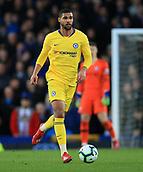17th March 2019, Goodison Park, Liverpool, England; EPL Premier League Football, Everton versus Chelsea; Ruben Loftus-Cheek of Chelsea runs forward with the ball