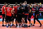 14.09.2019, Paleis 12, BrŸssel / Bruessel<br />Volleyball, Europameisterschaft, Deutschland (GER) vs. Belgien (BEL)<br /><br />Team Deutschland nach Niederlage<br /><br />  Foto © nordphoto / Kurth