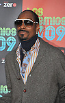 UNIVERSAL CITY, CA. - October 15: Snoop Dogg attends Los Premios MTV 2009 Latin America Awards held at the Gibson Amphitheatre on October 15, 2009 in Universal City, California.