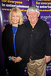 """SANTA MONICA -FEB 11: Ilene Graff, Ben Lanzarone at """"Hal Holbrook in Mark Twain TONIGHT!,"""" a benefit for The Actors Fund, at The Broad Stage on February 11, 2016 in  Santa Monica, California"""