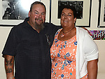 Martina McKenna celebrating her 50th birthday in the Glenside hotel with partner Eddie O'Connor. Photo:Colin Bell/pressphotos.ie