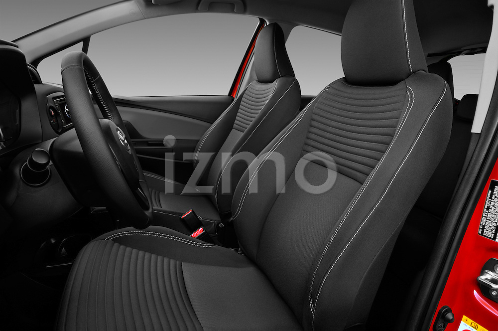 Front seat view of a 2015 Toyota Yaris SE 5-Door Liftback AT 5 Door Hatchback Front Seat car photos