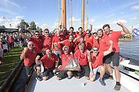ZEILSPORT: SNEEK: 17-08-2018, SKS Skûtsjesilen, Winnaar Skûtsje Grou, ©foto Martin de Jong