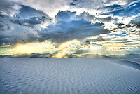 """Spiritual Experience"" - White Sands, New Mexico - White Sands National Monument"