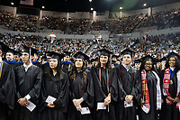 Spring Graduation in Humphrey Coliseum - first commencement ceremony for the College of Education and the College of Business.  4.0 Stephen D. Lee Scholars.<br />  (photo by Megan Bean / &copy; Mississippi State University)