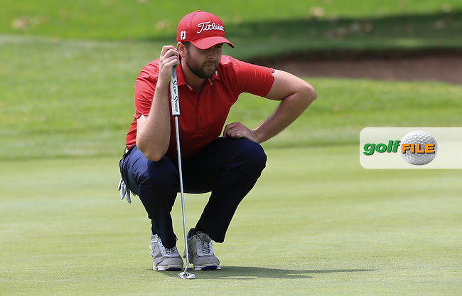 Ruaidhri McGee (IRL) in action on the West Course during Round 2 of the 2016 Joburg Open Celebrating 10 years, played at the Royal Johannesburg and Kensington Golf Club, Gauteng, Johannesburg, South Africa.  15/01/2016. Picture: Golffile | David Lloyd<br /> <br /> All photos usage must carry mandatory copyright credit (&copy; Golffile | David Lloyd)