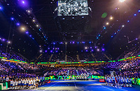 Rotterdam, The Netherlands, 16 Februari 2020, ABNAMRO World Tennis Tournament, Ahoy, Before the final openings act.<br /> Photo: www.tennisimages.com