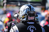 May 6, 2012; Commerce, GA, USA: NHRA top fuel dragster driver Bob Vandergriff Jr during the Southern Nationals at Atlanta Dragway. Mandatory Credit: Mark J. Rebilas-