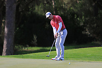Matthew Jordan (ENG) on the 4th during Round 3 of the Challenge Tour Grand Final 2019 at Club de Golf Alcanada, Port d'Alcúdia, Mallorca, Spain on Saturday 9th November 2019.<br /> Picture:  Thos Caffrey / Golffile<br /> <br /> All photo usage must carry mandatory copyright credit (© Golffile | Thos Caffrey)